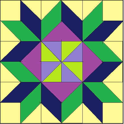 Pinwheel Lei