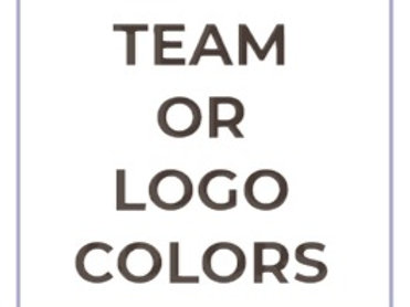 Team or Logo Colors