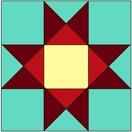 9 Patch Star