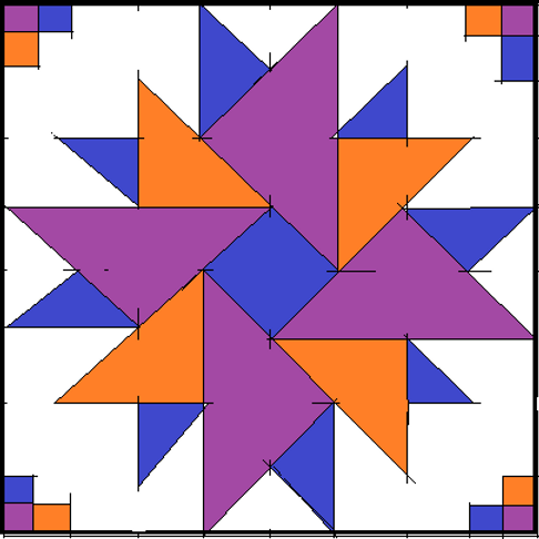 Barn Pinwheel