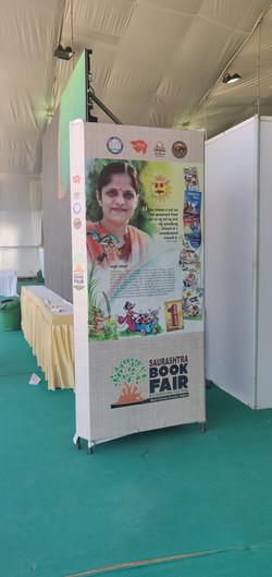 Book Fair Author Standee