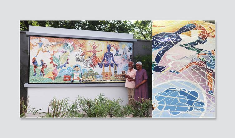 Ceramic Mosaic Mural