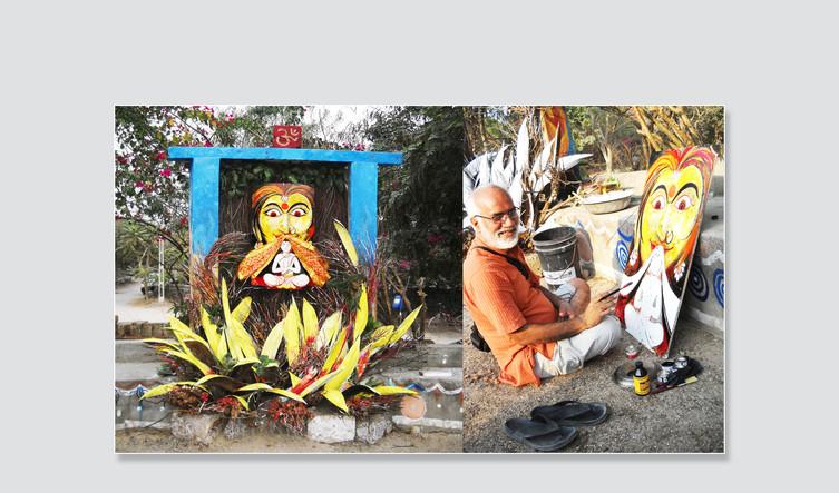 Decorative Holika Painting