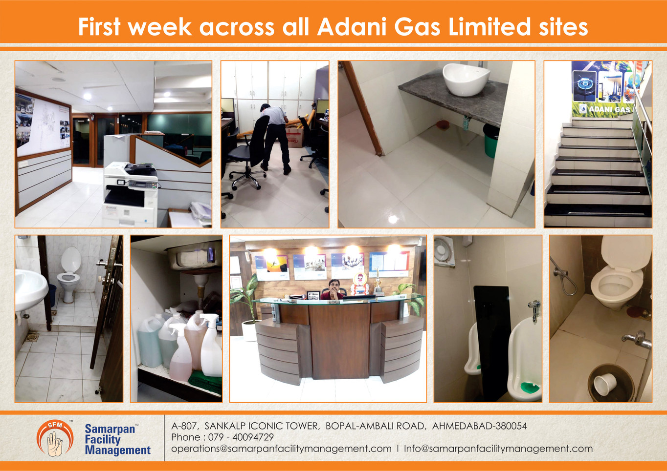 First week across all Adani Gas Limited sites