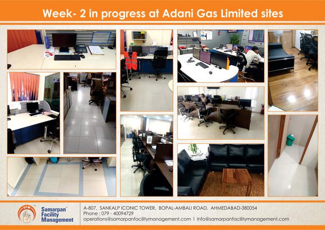Week- 2 in progress at Adani Gas Limited sites