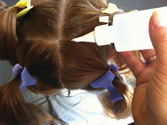 Two In-Salon Head Lice Treatments