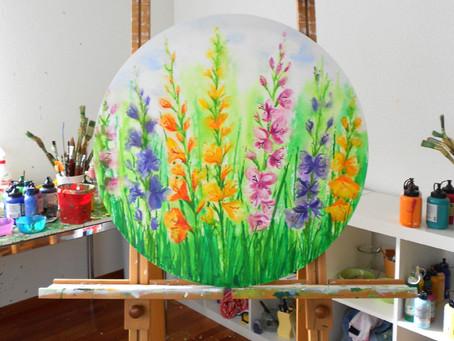 Farbenpracht 'Gladiolen'