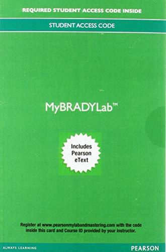 Paramedic Care: Principles & Practice, Vols. 1-5, 5th Ed, MyBRADYLab Access Card