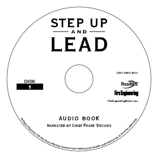 Step Up and Lead Audiobook CD