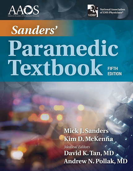 Sanders' Paramedic Textbook, 5th Edition