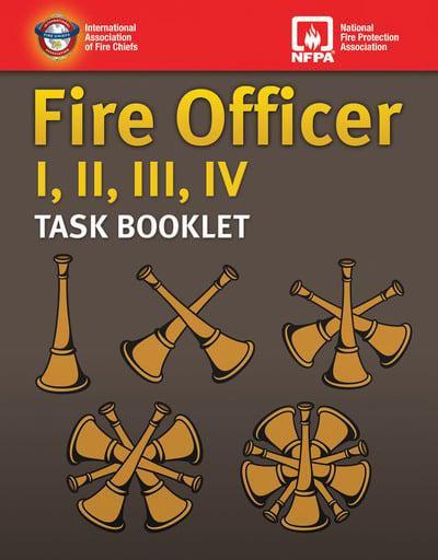 Fire Officer I, II, III, IV Task Booklet