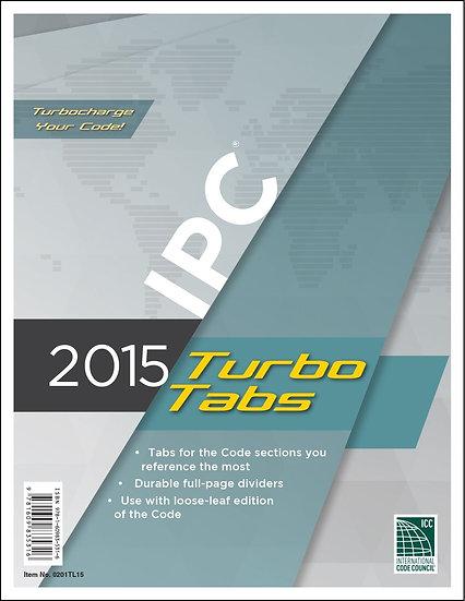 2015 International Plumbing Code Turbo Tabs