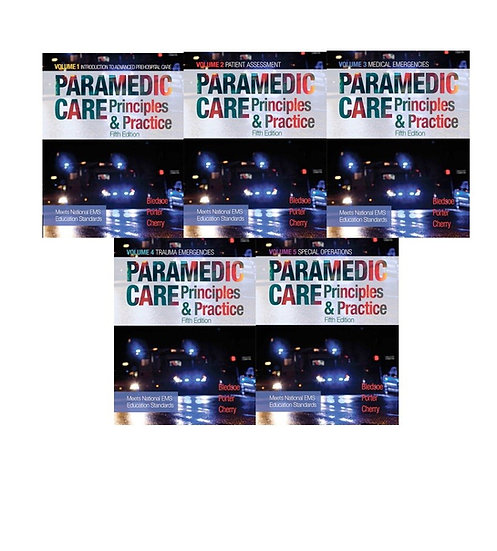 Paramedic Care: Principles & Practice, Vols. 1-5, 5th Edition