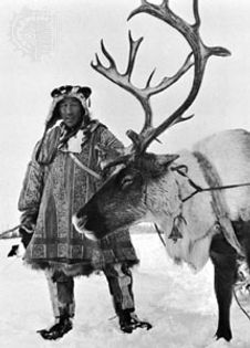 A traditional reindeer herder