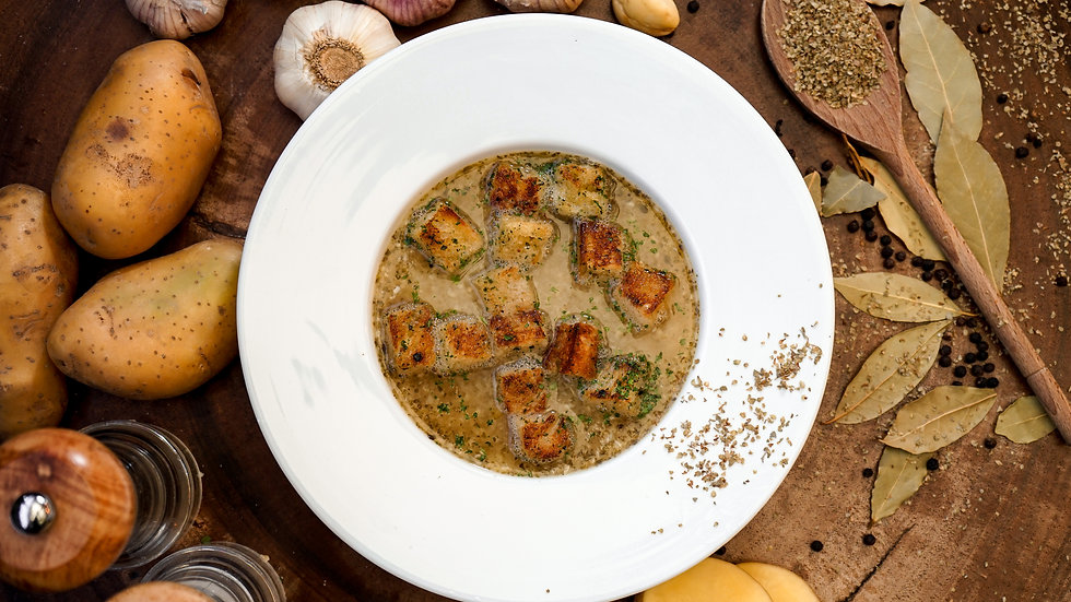 Czech Garlic & Potato