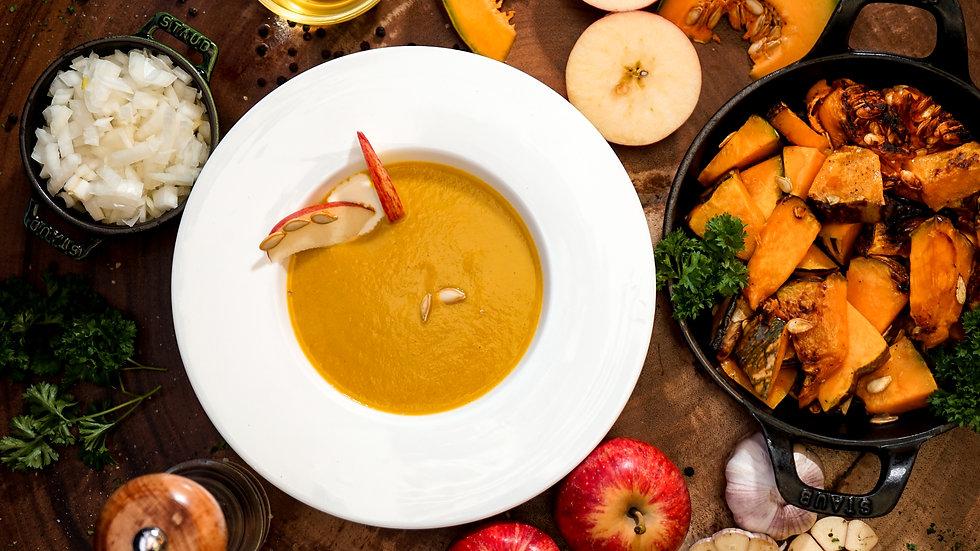 Roasted Pumpkin & Apple