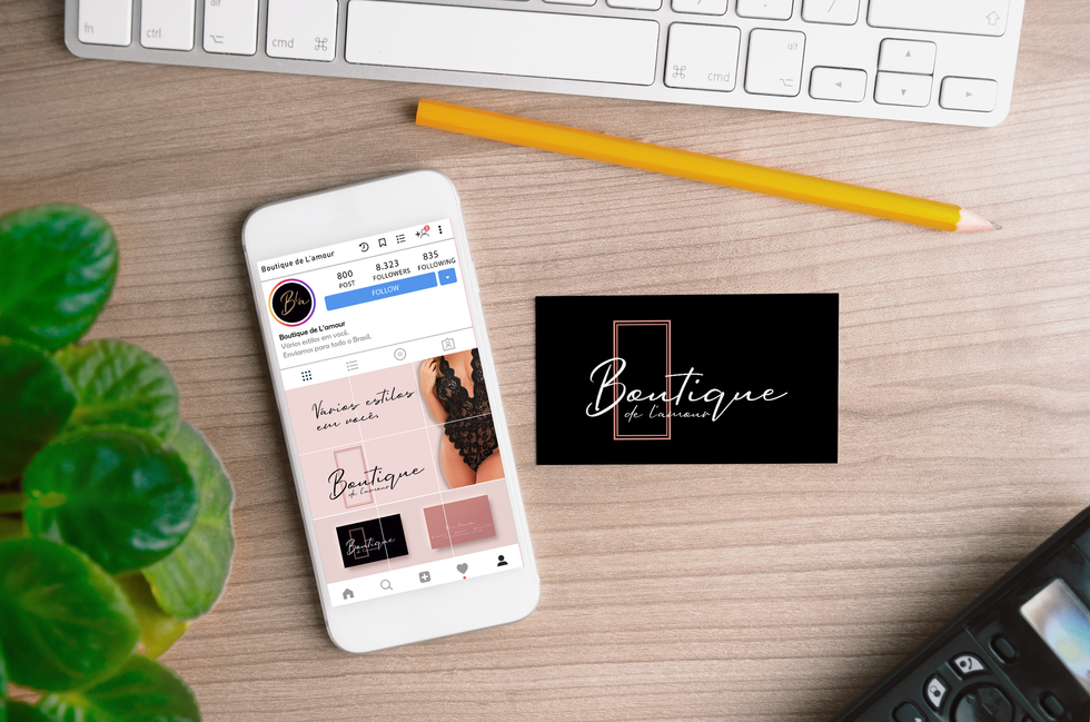 Free Smartphone with Business Card MockU