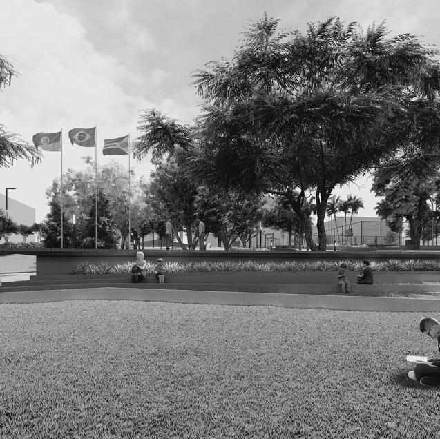 Praça Municipal / Paraí