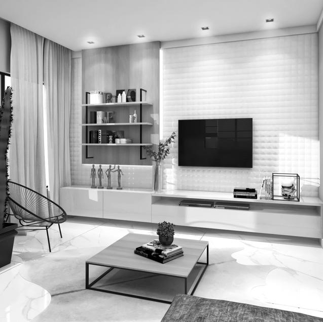Interiores Casa Retro