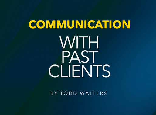 Communication With Past Clients