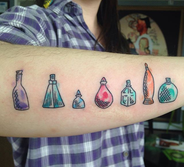 7 poison bottle..