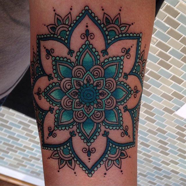 #mandala #mandalatattoo _eternalink _stencilstuff #radtattoos #tattoo #awesomeclients _mainstreetstu