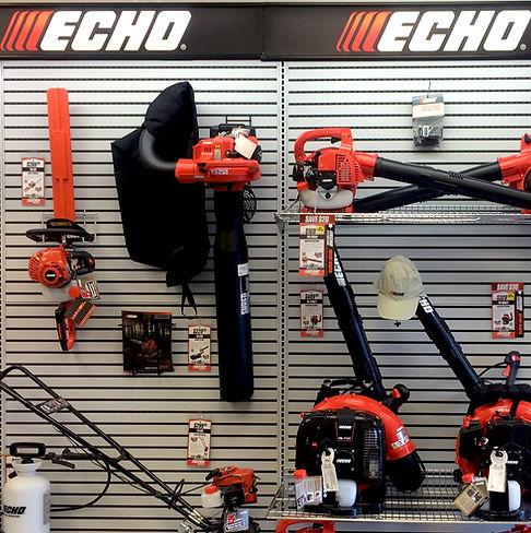 Echo Leaf Blower, Hedge Trimmer, Tiller