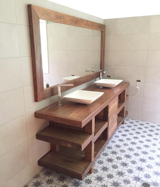 Custom Bathroom Mirror