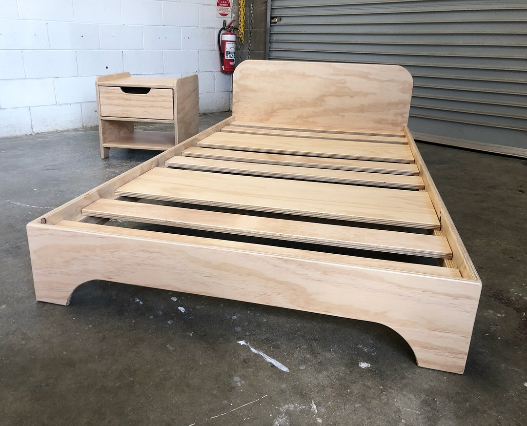 """The """"Prodigy"""" Bed frame (Clear)"""