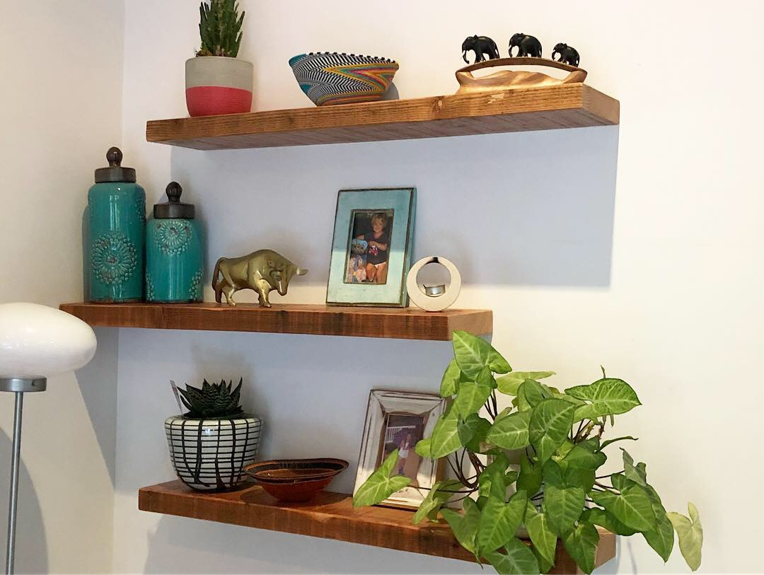 Floating Feature Shelves