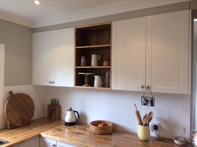 Custom - Kitchen Feature Shelf