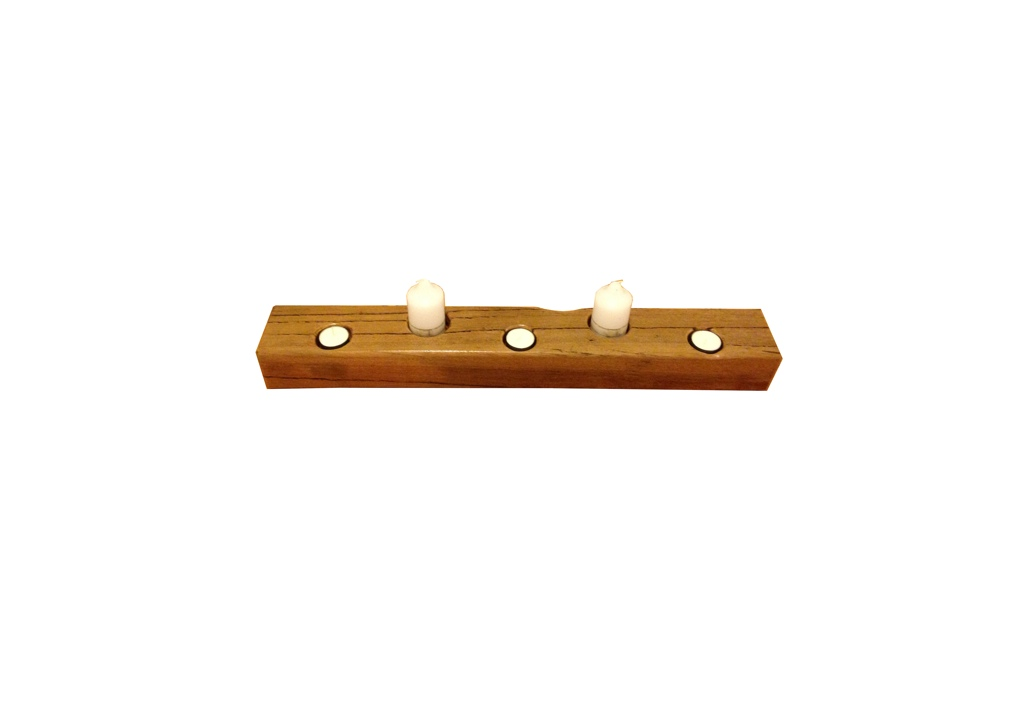 Timber Candle Holder
