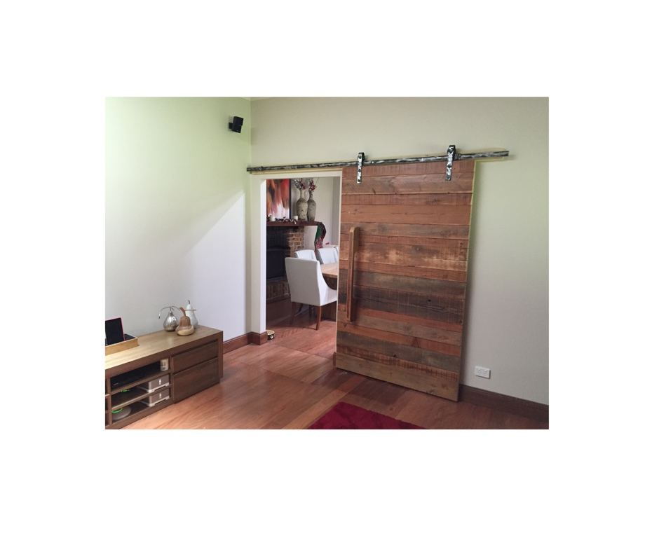 Recycled Timber Barn Door