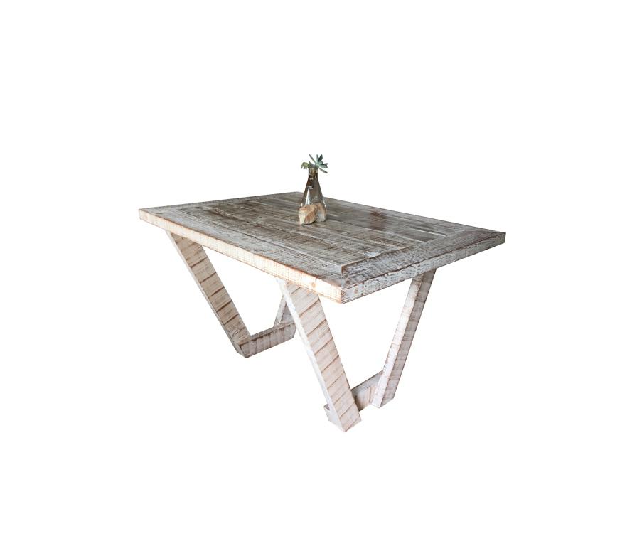 V-Leg Dining Table