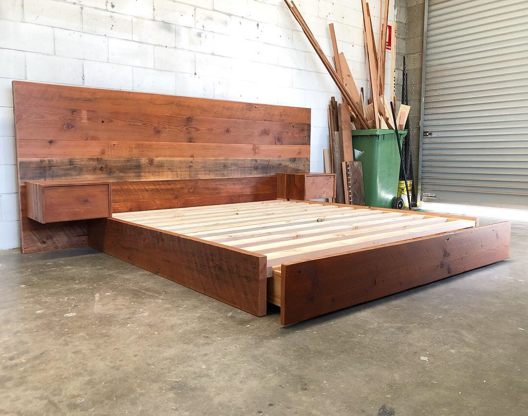 """The """"Tiffen"""" King Size Bed Frame"""