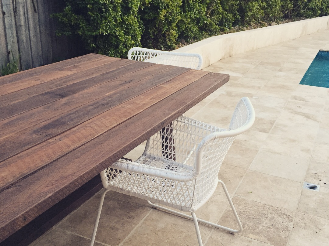 "The ""M&M"" Outdoor Dining Table"