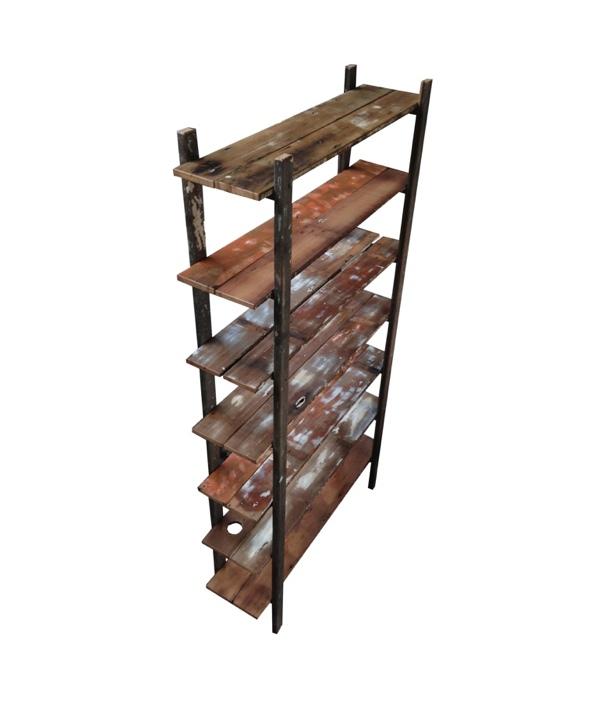 Ladder Shelves (Straight Legs)