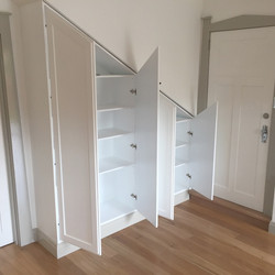 Under stair Cupboards