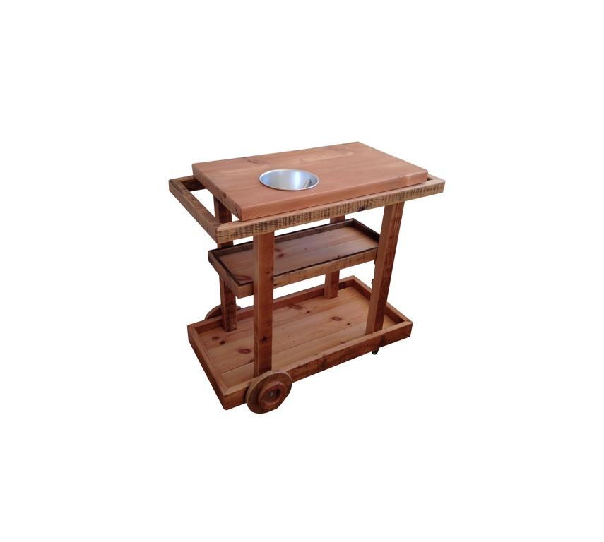 Custom Whiskey Cart
