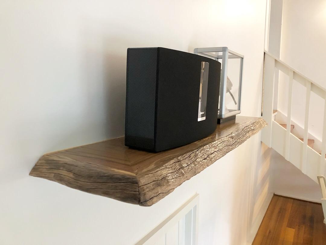 Hardwood Floating Shelf