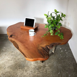 'Live Edge' Cedar coffee table