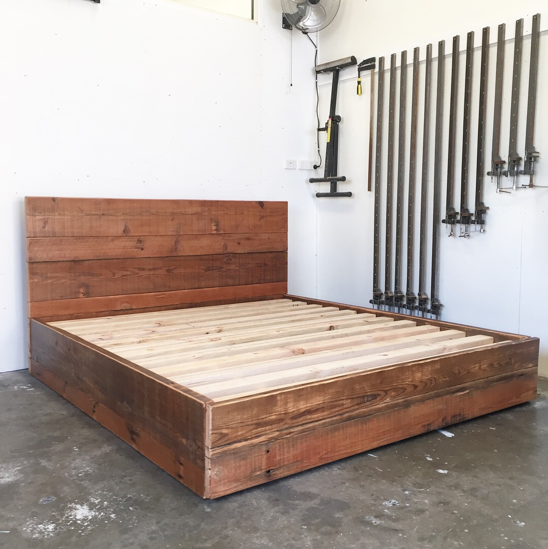 """The """"Valley"""" King Size Bed Frame"""