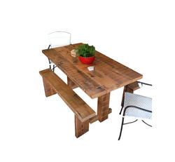 "Mini ""T-Bar"" Dining Table"