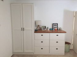 The 'Grove' Cupboard and Tall boy