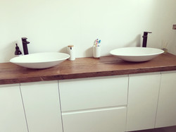 Timber Vanity Top