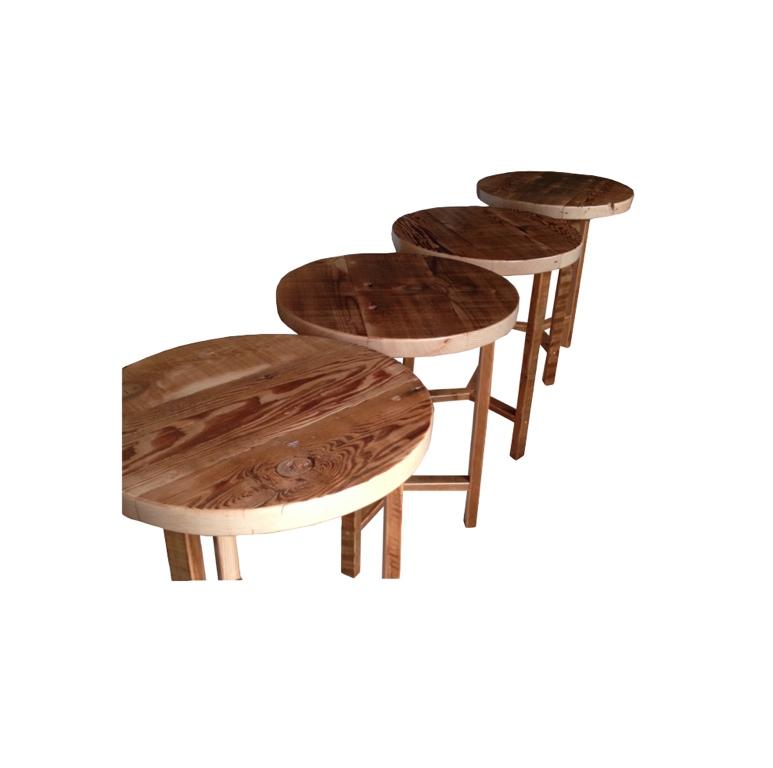 Circular Café tables