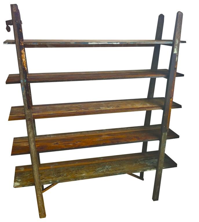 Ladder Shelves (Angled Legs)