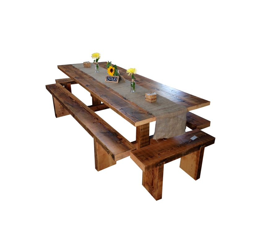"""T-Bar"" Dining Table"