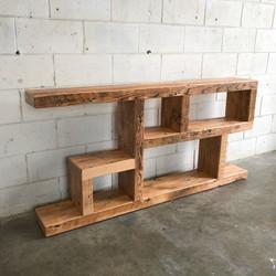 """Custom """"Cubed"""" Shelves"""