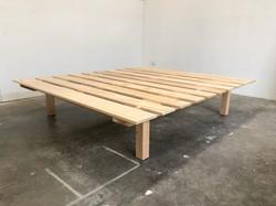 """The """"Float"""" King Size Platform Bed"""